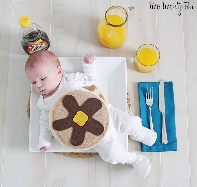 Baby Short Stack Pancake Costume - Two Twenty One