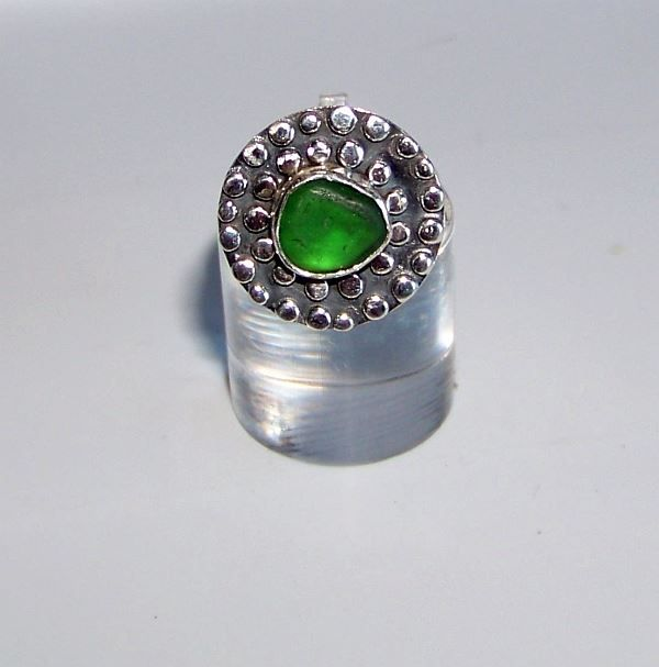 Upcycled sterling silver ring - available for purchase now on Sea & Shore https://www.facebook.com/groups/beachcrafts/