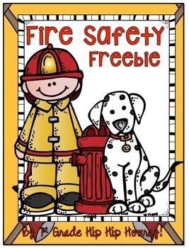 October 4th to the 10th is Fire Prevention Week.This is a perfect time for primary educators to help promote community helpers fire safety,  AND enhance academic skills.This specific freebie focuses on WRITING.Whether your kiddos are pre writers or beginning writers this packet has activities for you and your students.The packet contains:6 vocabulary cards for posting or putting in the writing center.They can be used for writing suggestions, spelling or even ABC order.Pre Write graphic organi...:
