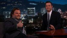 """Jimmy Kimmel Live: Actor Jack Black (""""The Brink""""). Jeffrey Tambor (""""Transparent"""").  found on Endorfyn."""