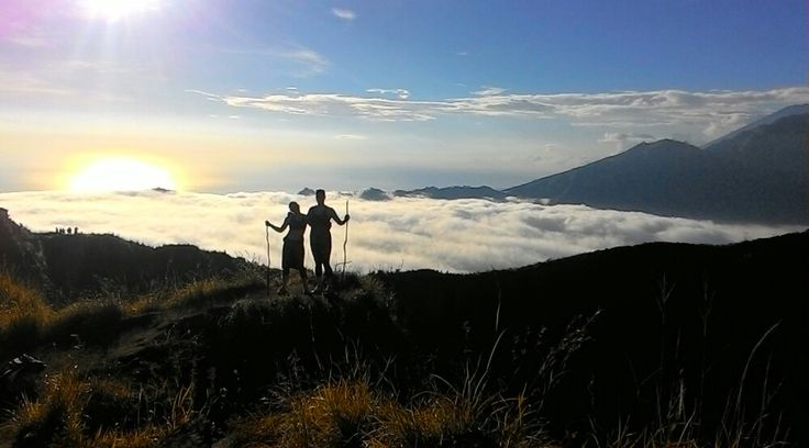 Mount Batur Sunrise Trekking Tour  Mount Batur is located in the district of Kintamani, Bangli regency, Bali. Ia the best options for trekking activity in Bali Island