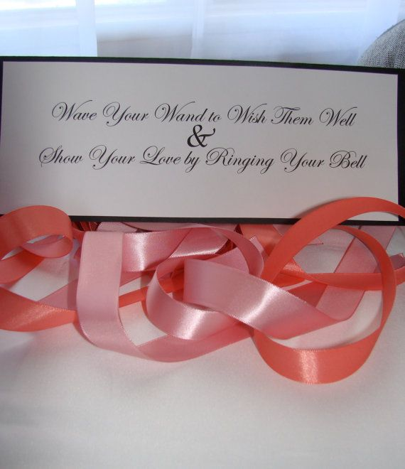 Wedding Bell Sayings: 50 Wedding Wands Personalized Summer Winter By