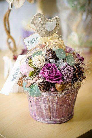 ˙·٠•●๑ Топиарий. Цветы из фоамирана