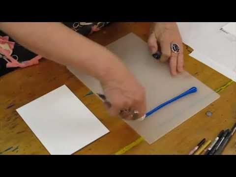 How To Monoprint With Golden Open Acrylic Colour