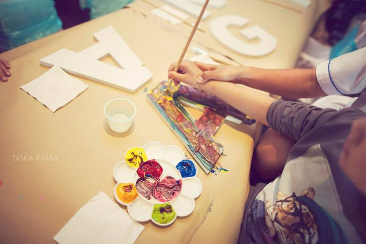 Custom Alphabet blocks for kids activity by Eve & Artistry.