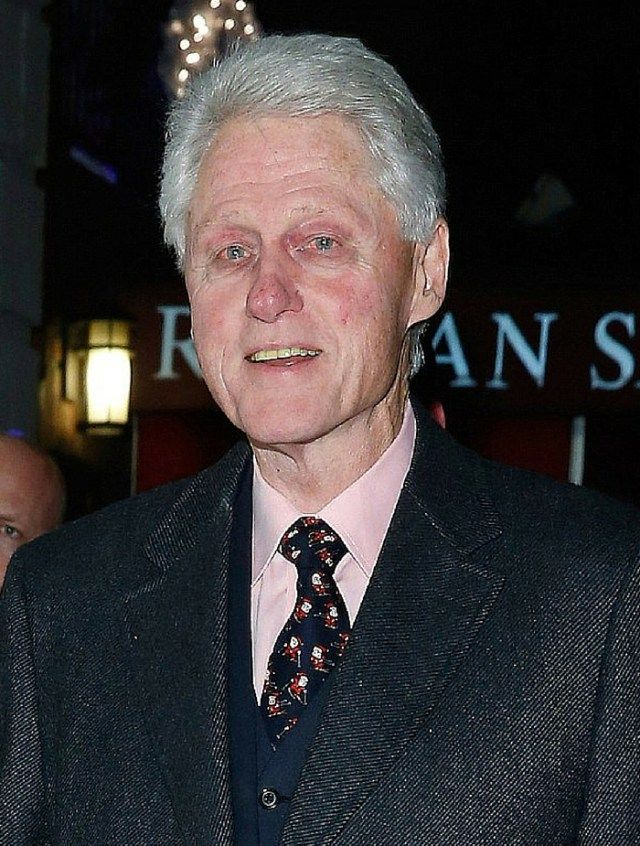 Bill Clinton Bill Clinton is the same age as Donald Trump.  Some people claim that this is what Hillary does to people.