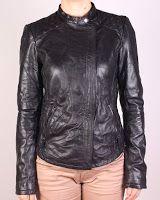 Geaca Zara Dama Karlita Black Leather (Zara)