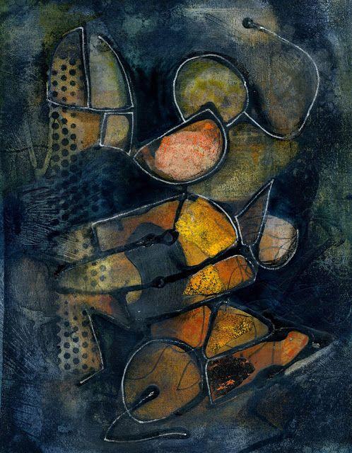 The Old Cells Studio - Michèle Brown Art: Alphabet soup 1