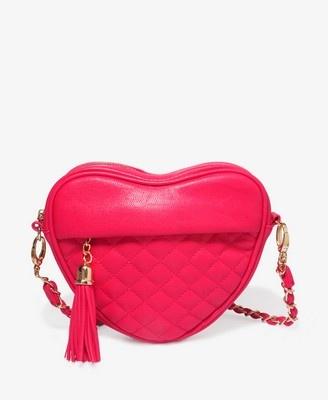 Quilted Heart Shoulder Bag | FOREVER21 - 1027705437