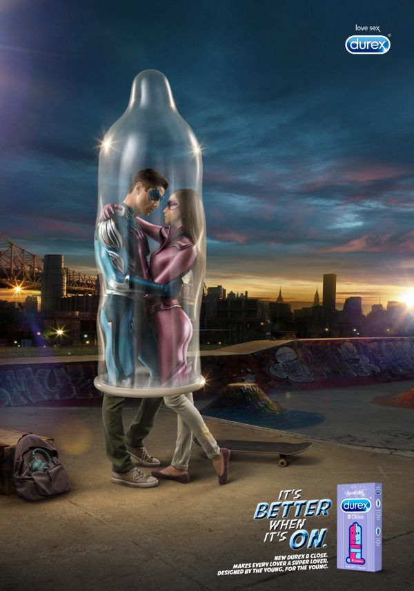 Durex TVB (Condoms for teen) - Print by Selmi Barissever, via Behance