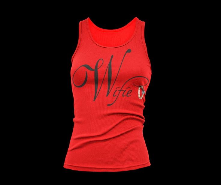 Red Wifie Tanktop