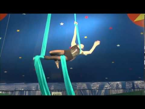 Tess W. Aerial Silks Performance – 2013 – her climbs are even sweet!