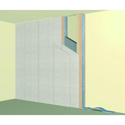 Merfoflex - geluidsisolerende voorzetwand - zwevend plafond