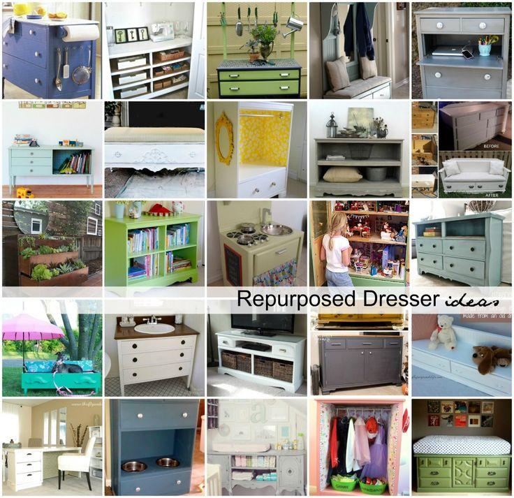 Repurposed Dresser Ideas
