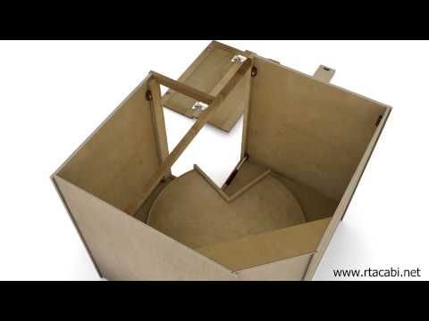 ▶ Lazy Susan Corner Kitchen Cabinet Assembly - RTA Cabinets Unlimited - YouTube