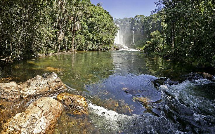 Cachoeira do Acabavida em Barreiras Bahia, minha terra