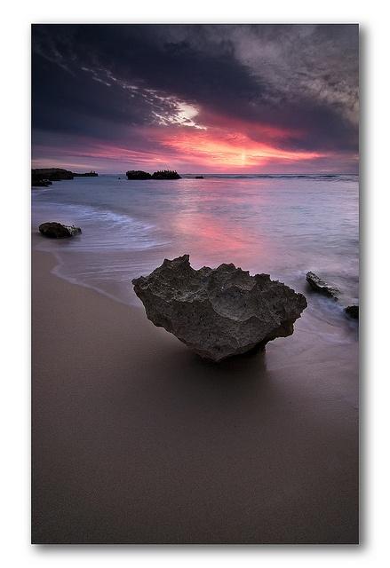 Sunset over Trigg, Perth, Western Australia