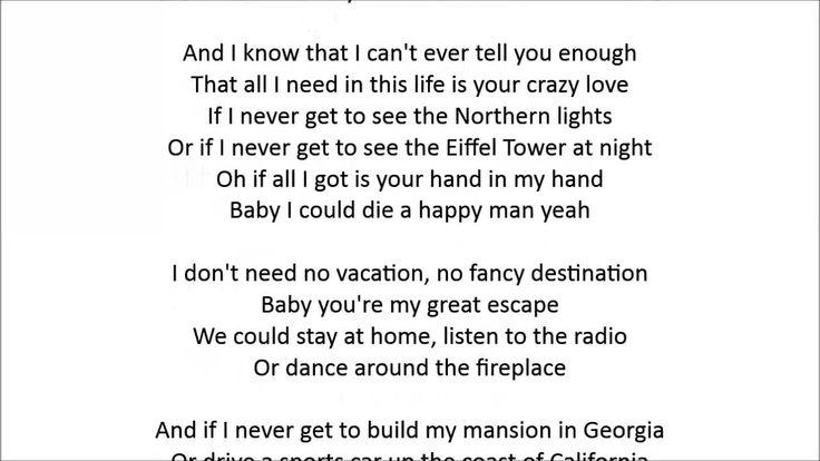 Lirik Lagu Thomas Rhett - Die A Happy Man Lyrics Baby last night was hands down One of the best nights That I've had no doubt Between the bottle of wine And ...