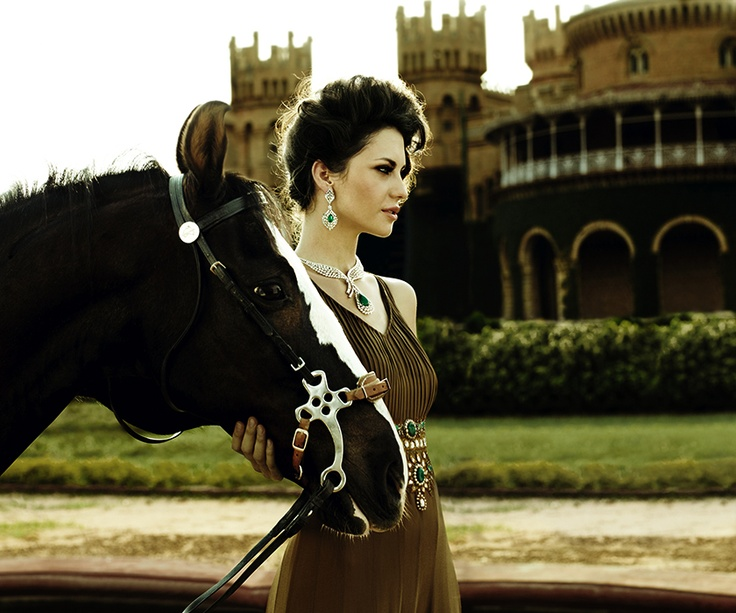 I want the dress and the horse!
