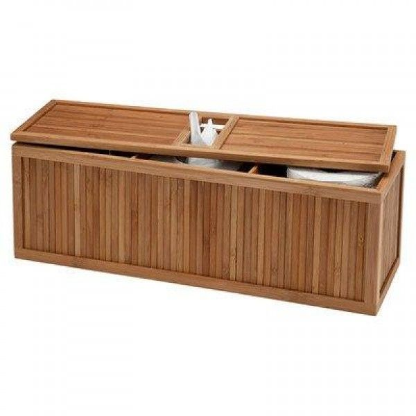 Creative Bath 3-in-1 Tank Topper, Natural/Bamboo  Exquisitely detailed and handcrafted of environmentally sound bamboo material. #Decorative and #functional #storage and organization for any room in the home. Our natural #eco #styles #home #collection is made of bamboo with an innovative tongue and groove look and design.