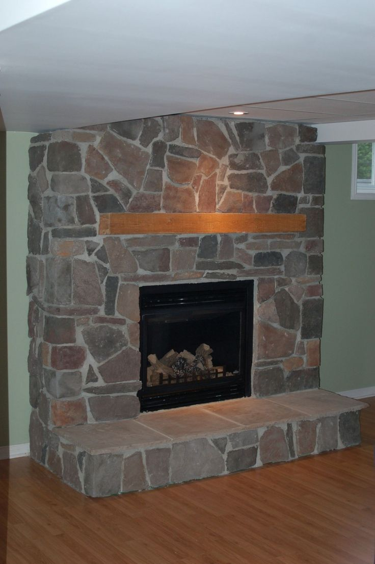 Interior:Natural Stone Fireplace Mantels Feat Wood Shelves Ideas And  Laminate Flooring Design For Apartment