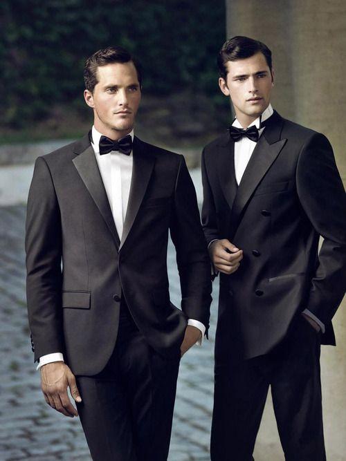 Sarar F/W 2013 | Men in Tuxedos | Wedding Attire | Groom and best man | groomsmen | james bond | sexy men