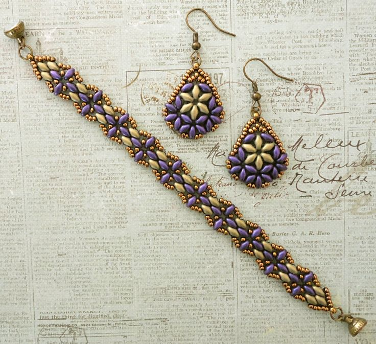 Linda's Crafty Inspirations: Harmony Band & Bethany Earrings Set