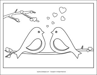 Free Valentine coloring pages - Valentine's Day coloring sheets ...