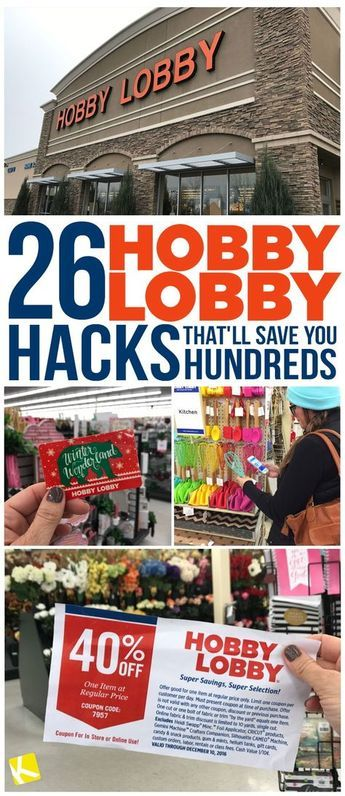 Learn how to use coupons and discounts to save at least 60% (or up to 90%) at Hobby Lobby. Save more money with these smart hacks.