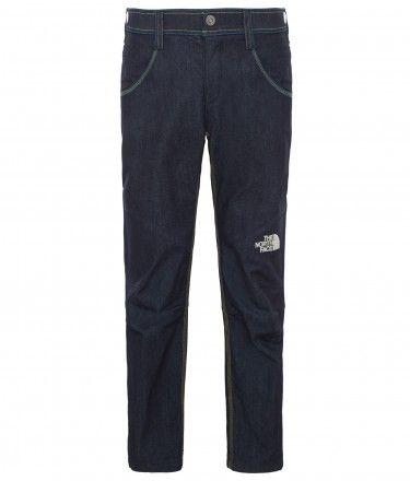 Associez le style et la résistance du jean à un pantalon d'escalade totalement fonctionnel.