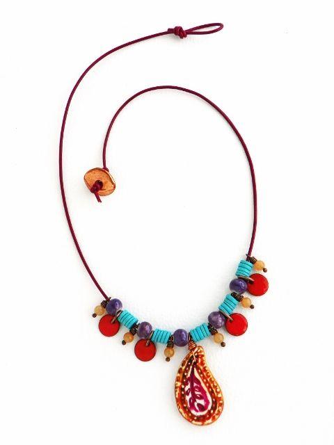 Art Bead Scene Blog: Free Project - Gypsy Ways Necklace