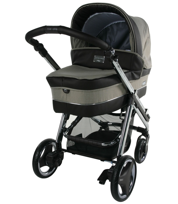 Buy your Bebecar Ip-Op Evolution 3-in-1 - Groundnut 171 from Kiddicare Baby Prams| Online baby shop | Nursery Equipment