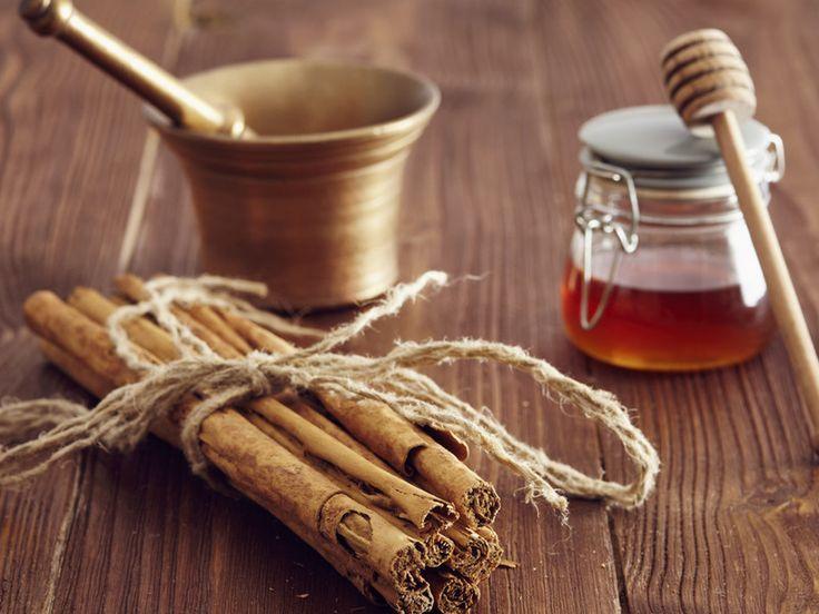 Eine starke Kombi: Zimt und Honig