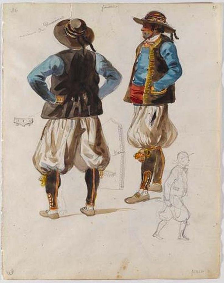 """""""Homme de Douarnenez"""", 1843, Marseille, mucem"""