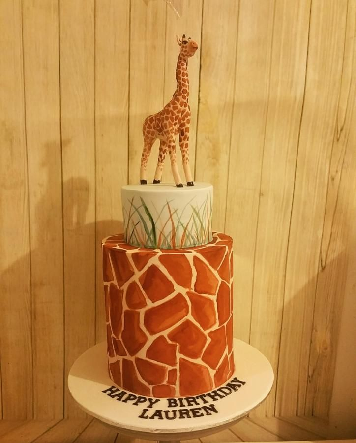 Giraffe Cake by Sugarism by Anne