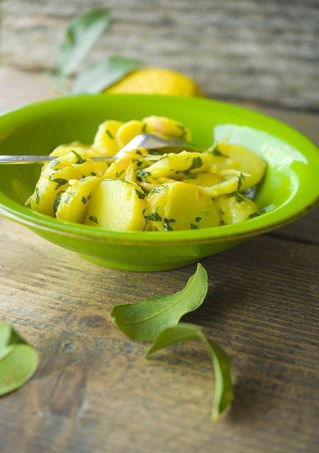 Картофель с лимоном / Patate al limone | Элла Мартино Рецепты Кулинарные туры Итальянская кухня