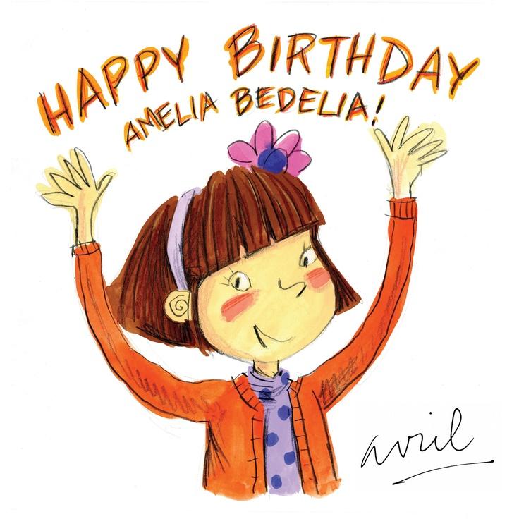 Amelia Bedelia turns 50 this year! Wish her a Happy Birthday!     #Birthday #AmeliaBedelia #picturebook #reading #classic