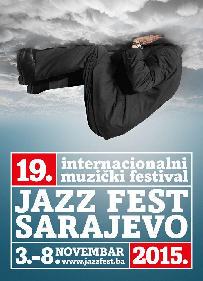 Plakat 19. Jazz Festa by Enes Huseincehajic