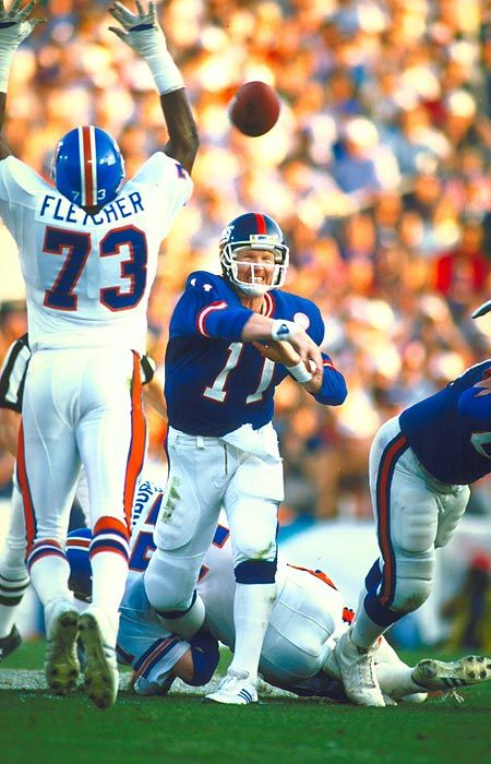 Super Bowl XXI, Jan. 25, 1987 Phil Simms