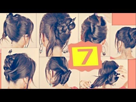 ★7 CUTE HAIRSTYLES WITH JUST A PENCIL! LONG HAIR TUTORIAL FOR SCHOOL |UPDOS BU…
