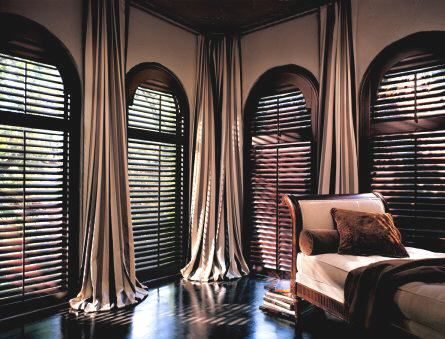 17 best images about two story window treatments on for Window treatment for oval window