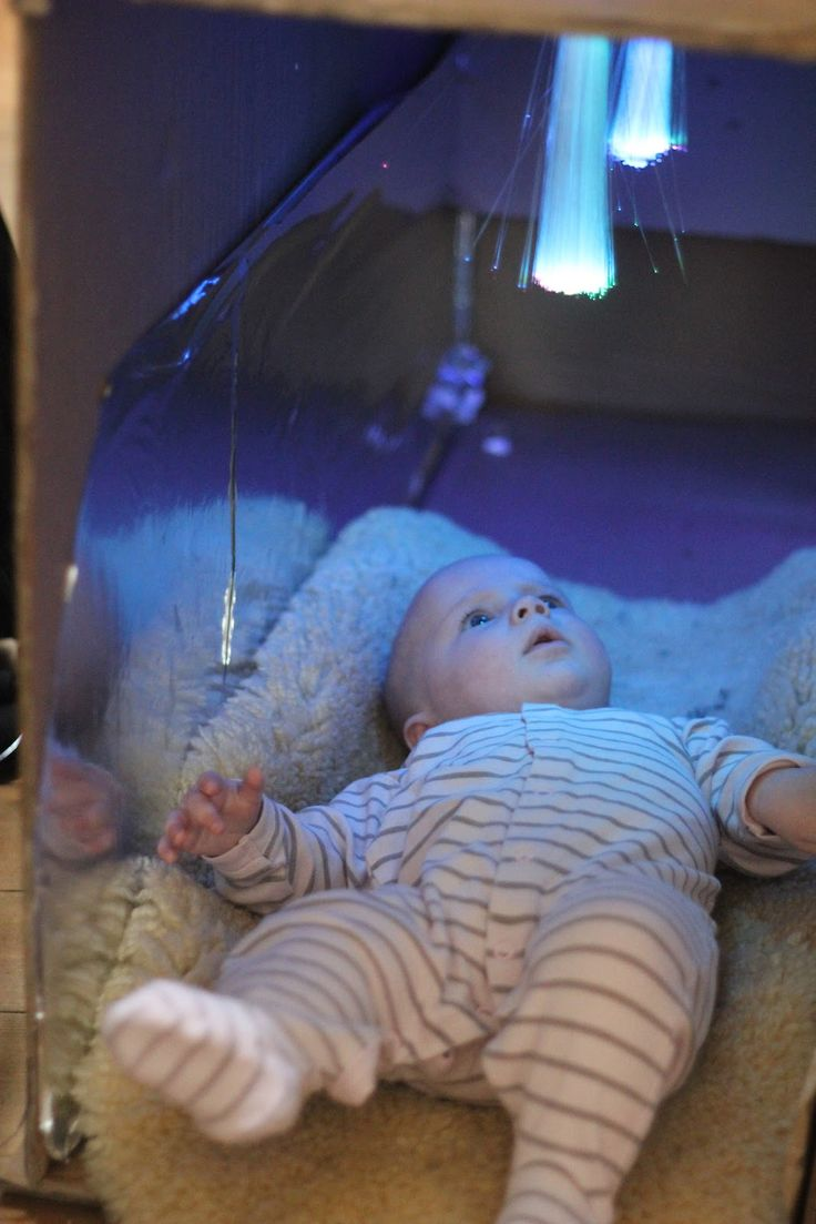 Fibre Optic Sensory Cave for babies and toddlers!