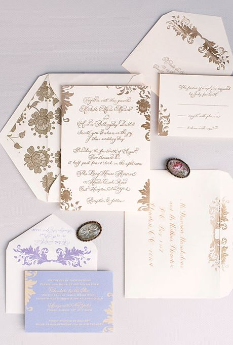 The 25 best Floral letterpress wedding reply cards ideas on Pinterest