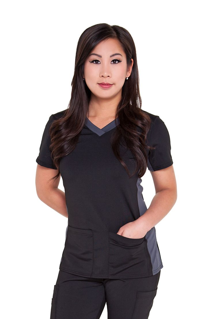 Our light & luxe tops are built for comfort and style! Built with Driflex: - Keeps you cool - Quick drying - Easy care - 4-way stretch Contrast Panelling: - Extra stretch around the neck to prevent yo