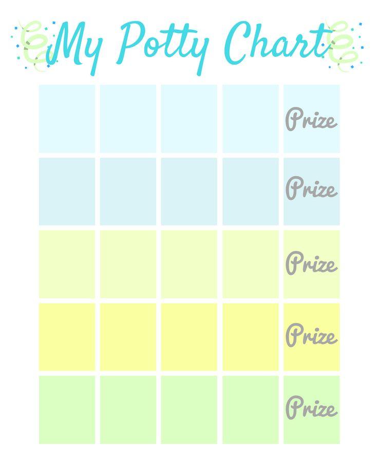 My Potty Chart FREE Printable + The Secrets to Potty Training
