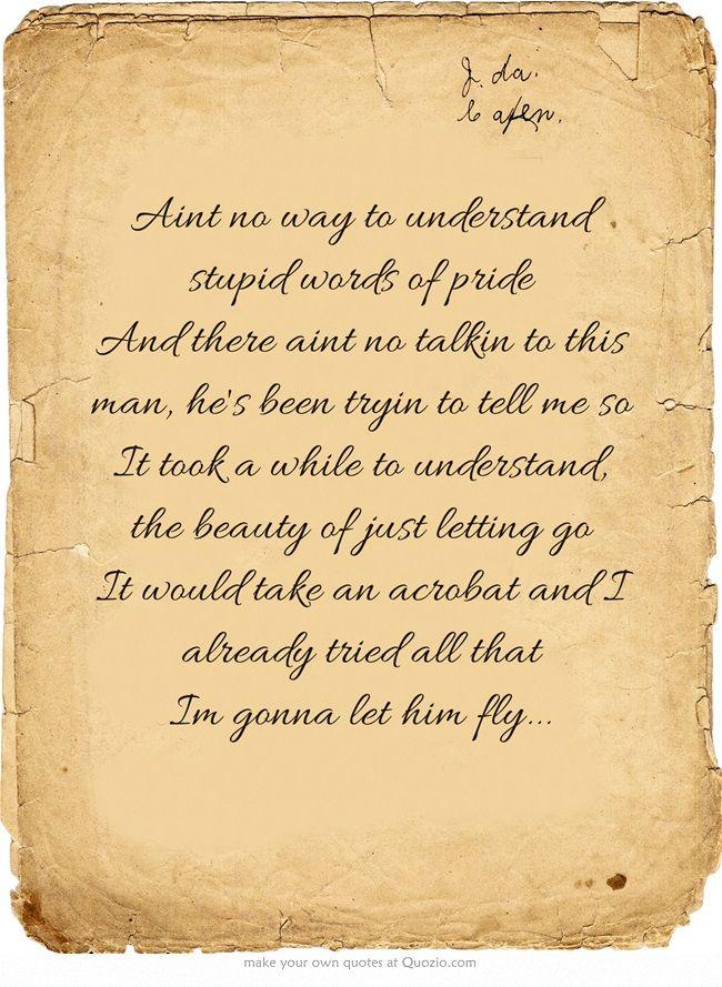 Best 25+ Let him fly lyrics ideas on Pinterest | Poetry lines ...