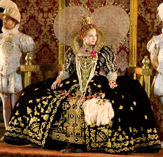 """Elizabeth I's Black Gown (""""The Lost Colony"""" at... 