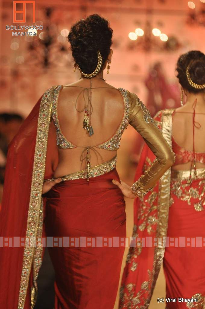 Manish Malhotra 2013 . Love the blouse