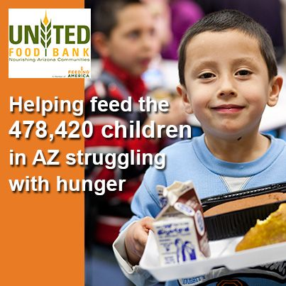 Why spread the word about hunger in Arizona this #HungerAction Month? We've got 478,420 reasons. That's how many kids are food insufficient in AZ. You can help make a difference. Please SHARE!