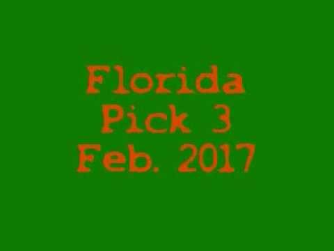 Florida Pick 3 Feb  2017 - http://LIFEWAYSVILLAGE.COM/lottery-lotto/florida-pick-3-feb-2017/